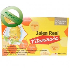 Jalea Real Vitaminada 20 Ampollas