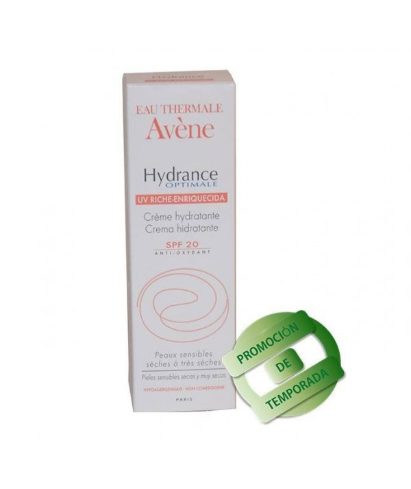Crema Hydrance Optimale Enriquecida SPF 20 Avène 40 ml