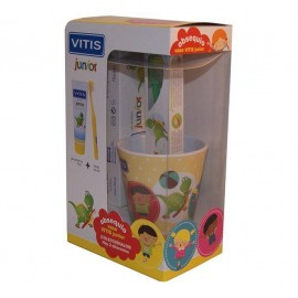 Pack Vitis Junior Pasta + cepillo + Regalo