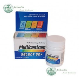 Multivitamínico Multicentrum Select 50+  30 Comprimidos