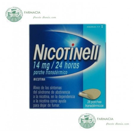 NICOTINELL 14 MG 24 H 28 PARCHES TRANSDERMICOS 35 MG