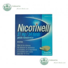 NICOTINELL 21 MG 24 H 14 PARCHES TRANSDERMICOS 52.5 MG