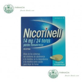 NICOTINELL 14 MG 24 H 14 PARCHES TRANSDERMICOS 35 MG