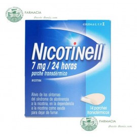 NICOTINELL 7 MG 24 H 14 PARCHES TRANSDERMICOS 17.5 MG