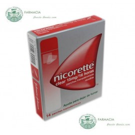 NICORETTE 15 MG 16 H 14 PARCHES TRANSDERMICOS 24.9 MG