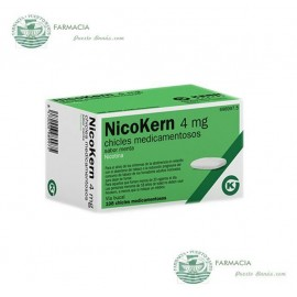 NICOKERN 4 MG 108 CHICLES SABOR MENTA