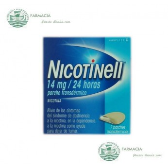 NICOTINELL 14 MG 24 H 7 PARCHES TRANSDERMICOS 35 MG