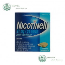 NICOTINELL 21 MG 24 H 7 PARCHES TRANSDERMICOS 52.5 MG