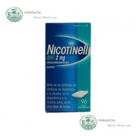 NICOTINELL COOL MINT 2 MG 96 CHICLES MEDICAMENTOSOS
