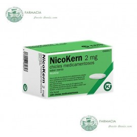 NICOKERN 2 MG 108 CHICLES SABOR MENTA