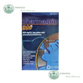 PHARMAGRIP DUO 650 MG 10 SOBRES