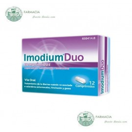 IMODIUM DUO 125 MG 12 COMPRIMIDOS