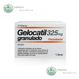 Gelocatil 325 mg 12 Sobres