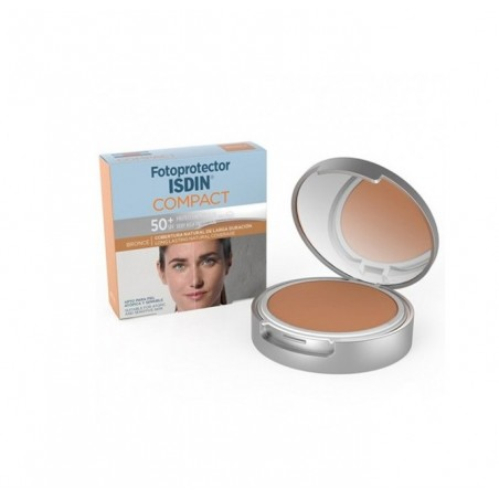 Fotoprotector ISDIN Compact Bronce Spf50+ 10 gr
