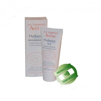 Crema Hydrance Optimale Enriquecida Avène 40 ml